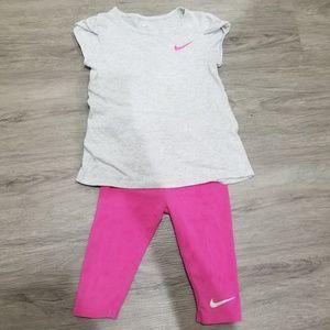 Nike girls set 4T